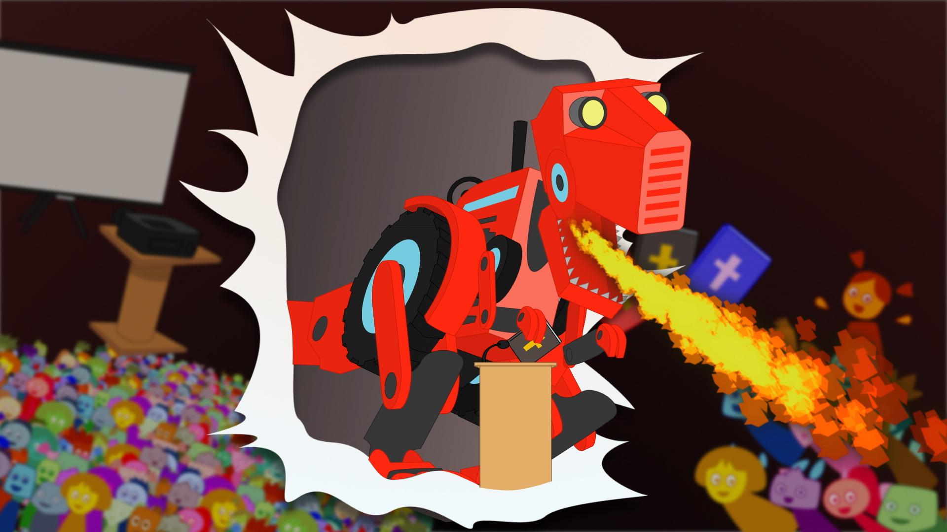 Ada v6 ep14 tractorsaurus rex