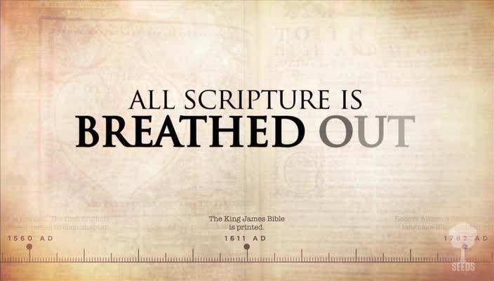 Breathed out 2 timothy 316 17