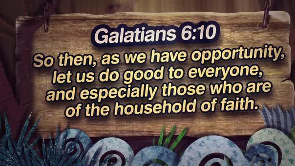 Galatians 610 nature