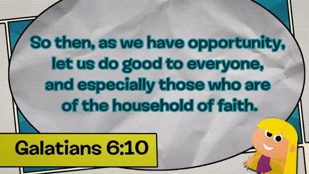 Galatians 610 comic