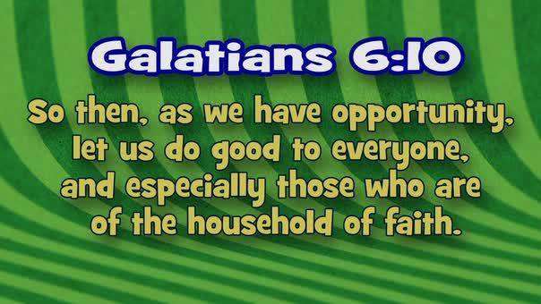 Galatians 610 stripes