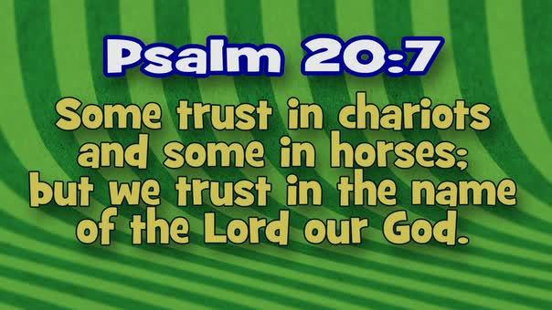 Psalm 207 stripes