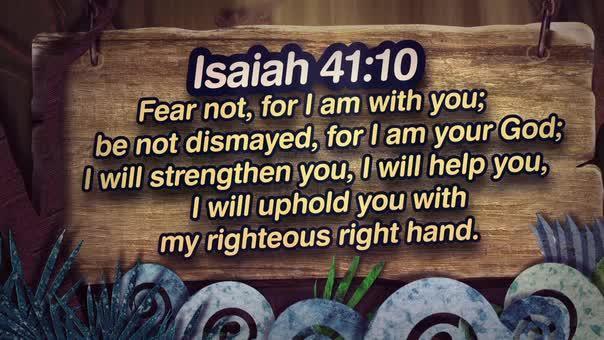Isaiah 4110 nature