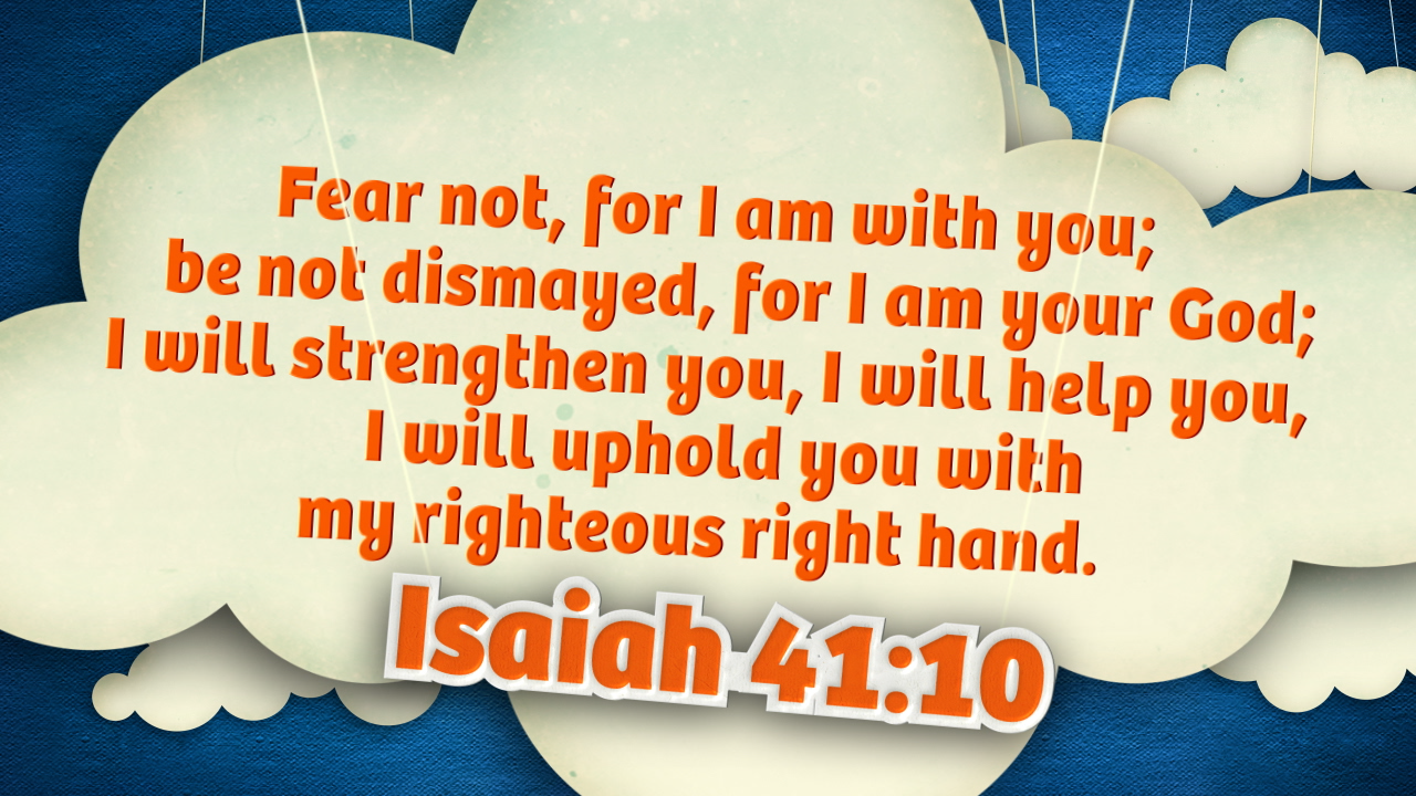 Isaiah 4110 clouds