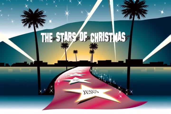 The stars of christmas